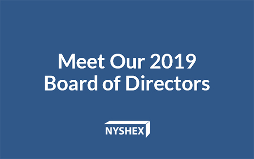 NYSHEX Announces 2019 Board of Directors