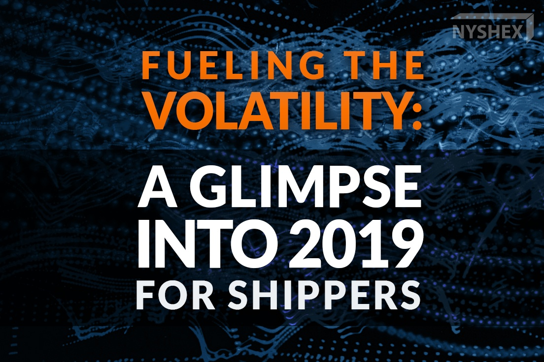 Fueling the volatility: A glimpse into 2019 for shippers - straight from SCITC